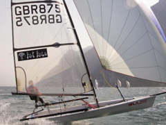 RS RS700 Sailing Dinghy