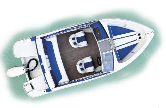 Layout Glastron Bowrider GT 160 BR