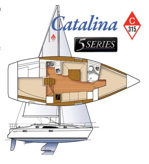 Layout Catalina 315