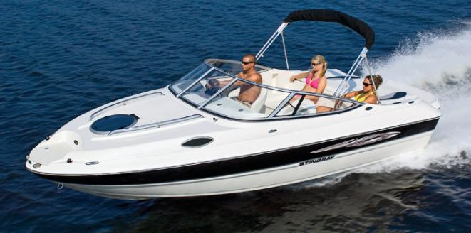 Stingray Sport deck 208 CR Neuboot