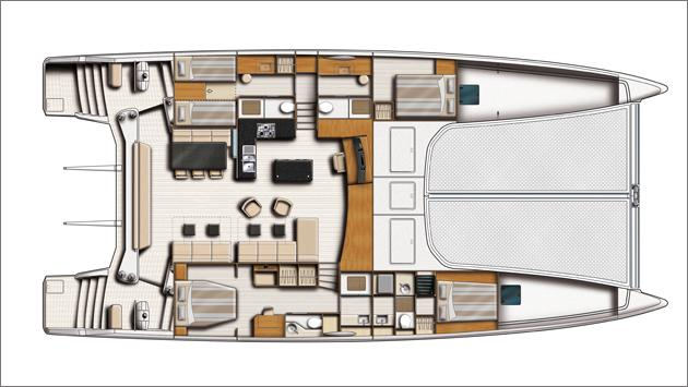 Layout Catana 70