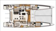 Interiors & Cabin Layout Catana 70 (Layout)
