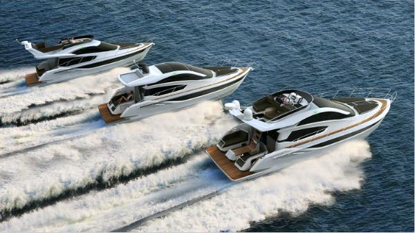 Exterior Galeon 430 Skydeck New Boat