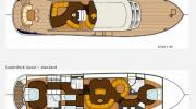 Interiors & cabin layout Boarncruiser 72 Retro Line Decksaloon (Layout)