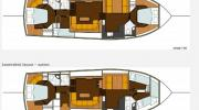 Interiors & cabin layout Boarncruiser 50 Classic Line (Layout)