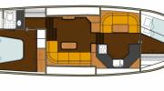 Interiors & cabin layout Boarncruiser 41 New Line (Layout)