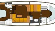 Interiors & cabin layout Boarncruiser 42 New Line (Layout)