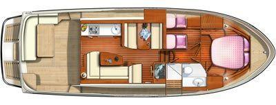 Layout Linssen Grand Sturdy 40.9 sedan