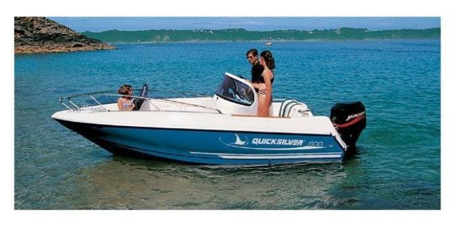 Quicksilver Commander 500 Neuboot