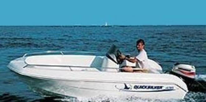 Quicksilver Open 435 Neuboot