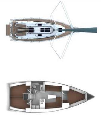 Layout Bavaria Cruiser 37