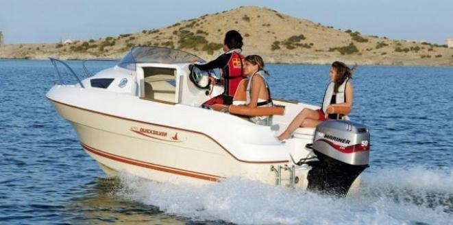 Quicksilver Cruiser 470 Neuboot