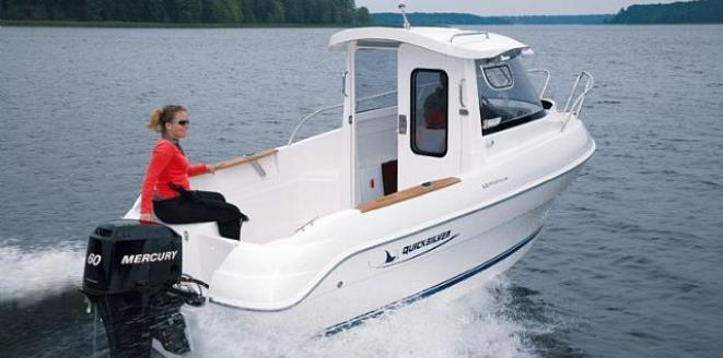 Quicksilver 500 Pilothouse Neuboot