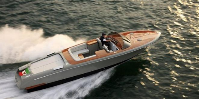 Riva Aquariva by Marc Newson Neuboot