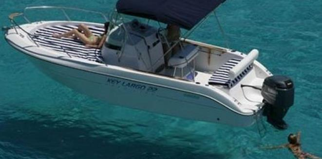 Sessa Key Largo 22 Deck Neuboot