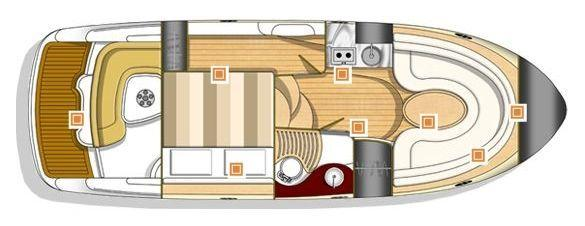 Layout Sessa Cruiser C 30