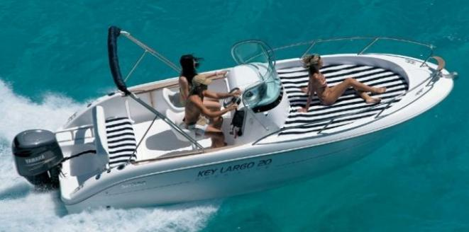 Sessa Open Key Largo 20 Deck Neuboot