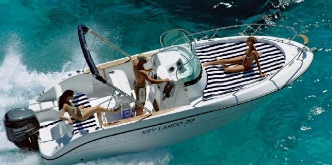 Sessa Open Key Largo 22 Deck Neuboot