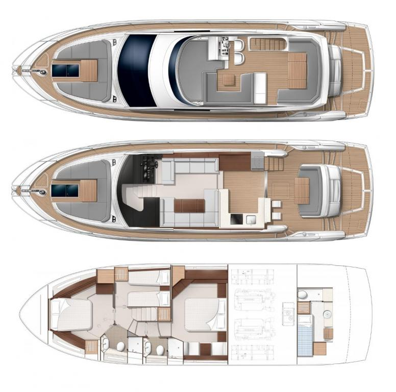 Layout Sunseeker Manhattan 52