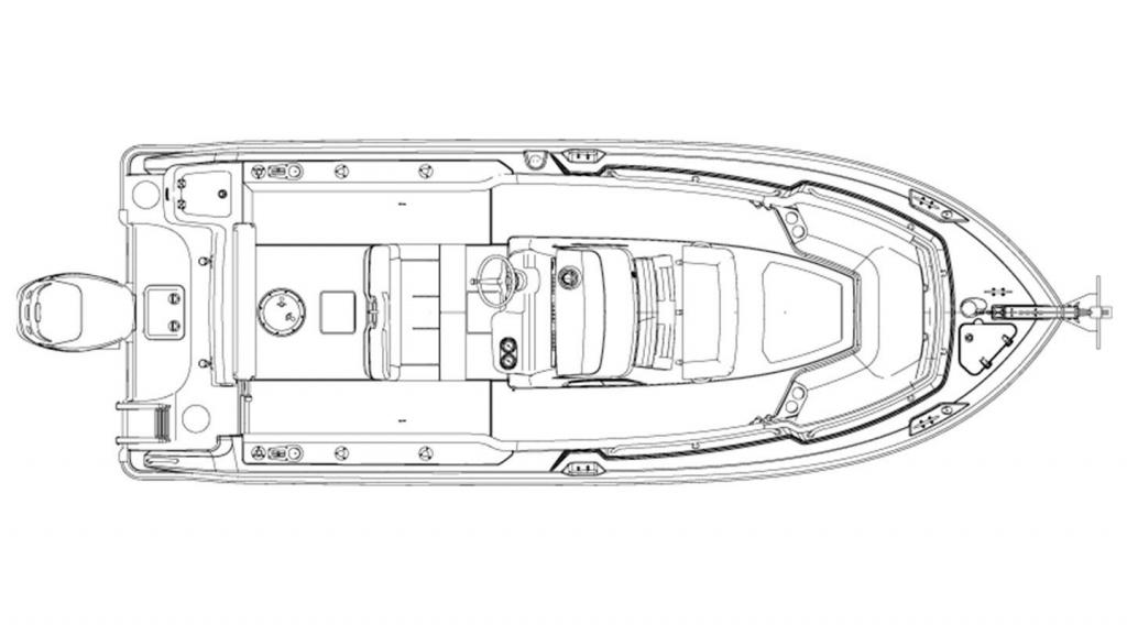Layout Boston Whaler 230 Outrage