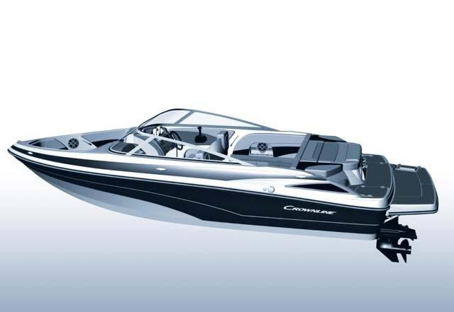Exterior Crownline Bowrider 205 SS New Boat