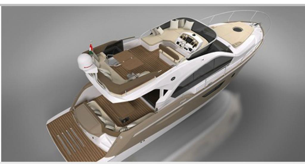 Exterior Sessa Yacht 42 Fly New Boat