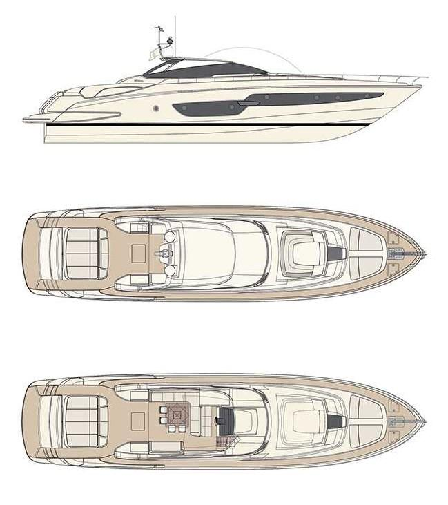 Layout Riva 88 Florida