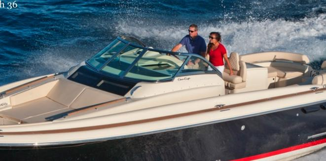 Chris Craft Launch 36 New boat