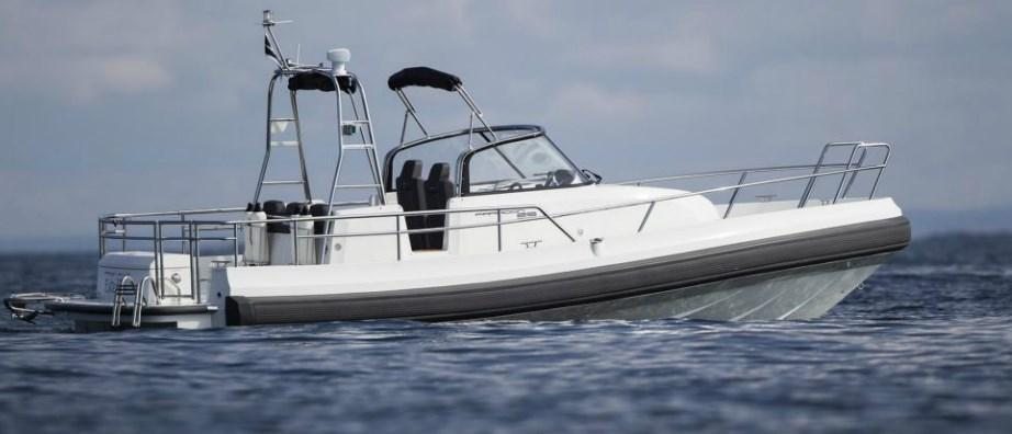 Exterior Paragon 25 Open New Boat