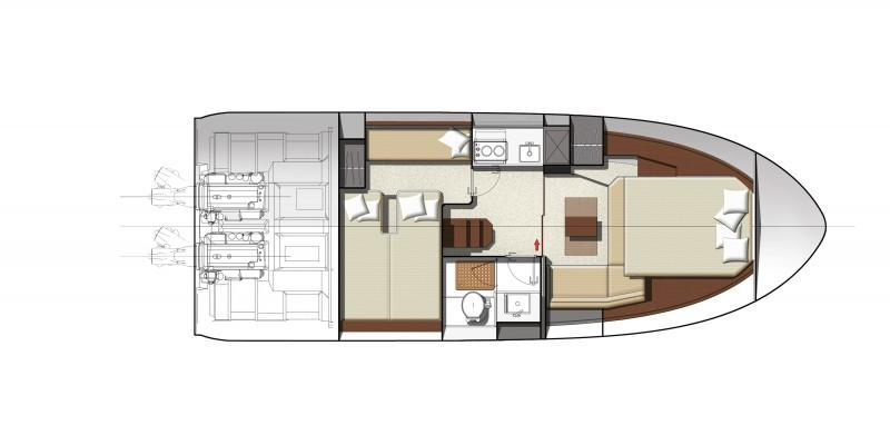Layout Jeanneau Leader 36
