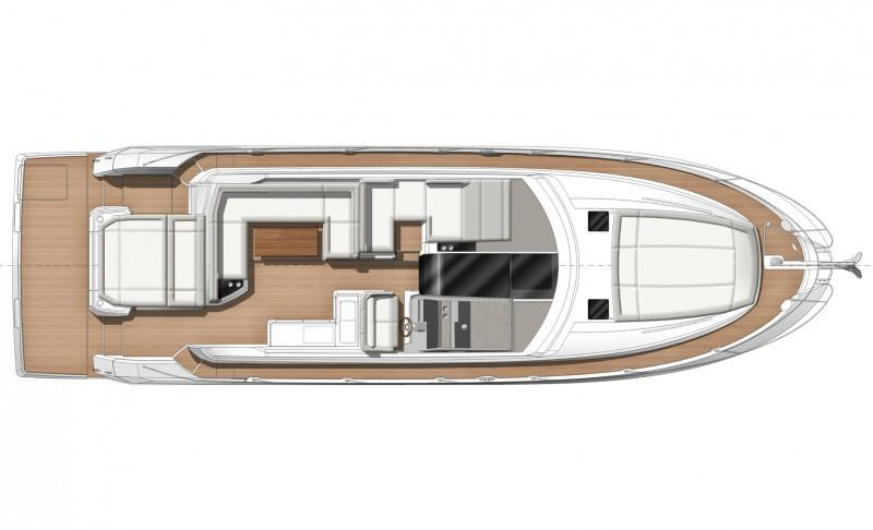 Layout Jeanneau Leader 46