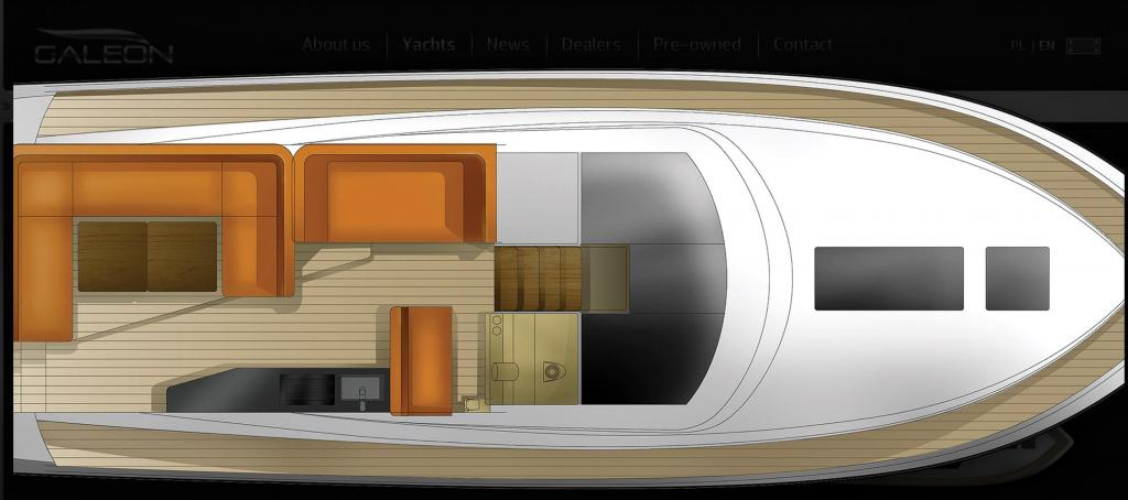 Layout Galeon 405 HTL