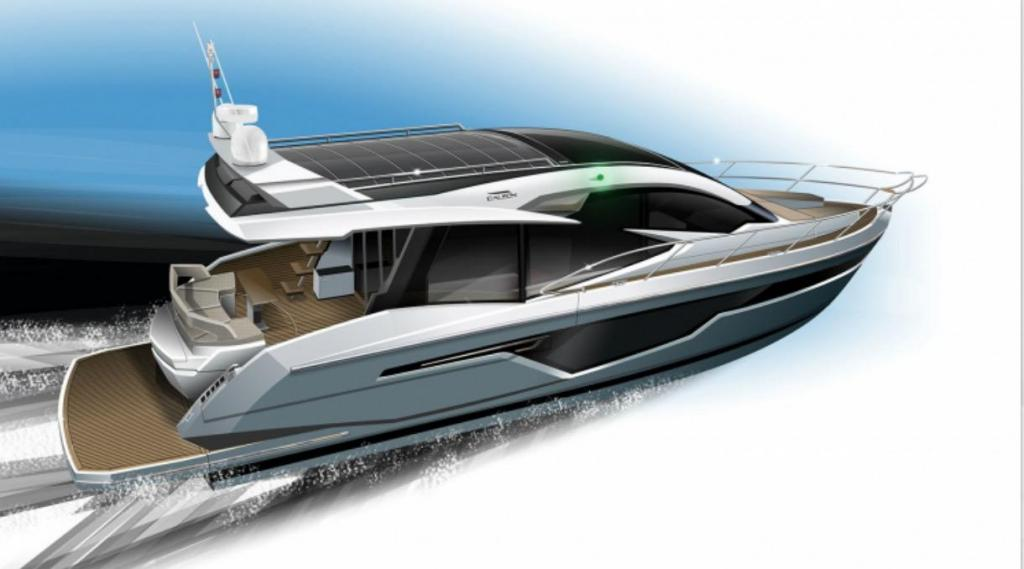 Exterior Galeon 510 Skydeck New Boat