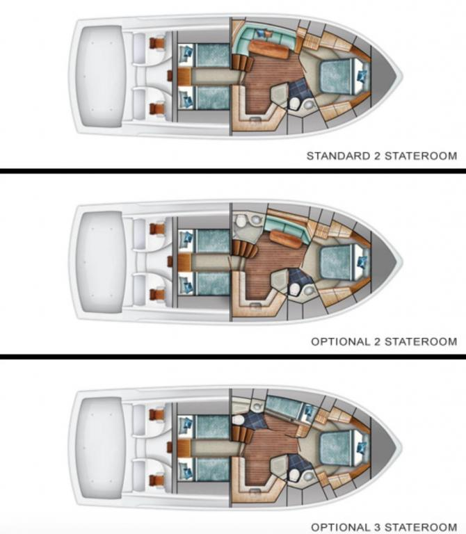 Layout Viking Sport Yacht 42 ST