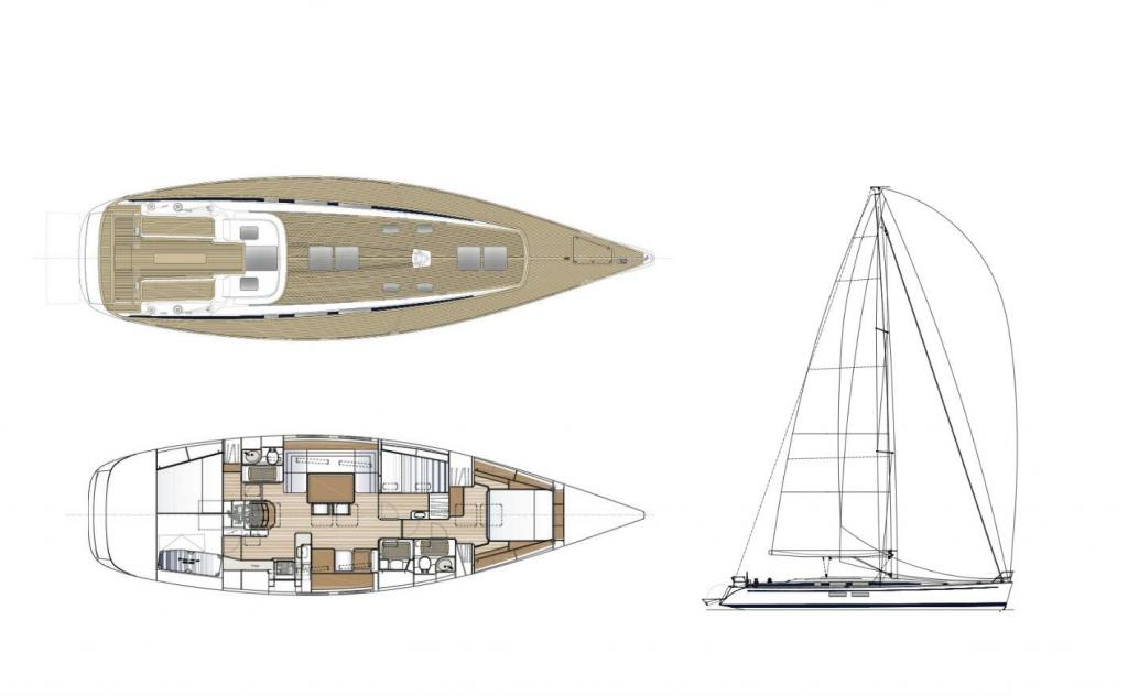Layout Nautors Swan Swan 54
