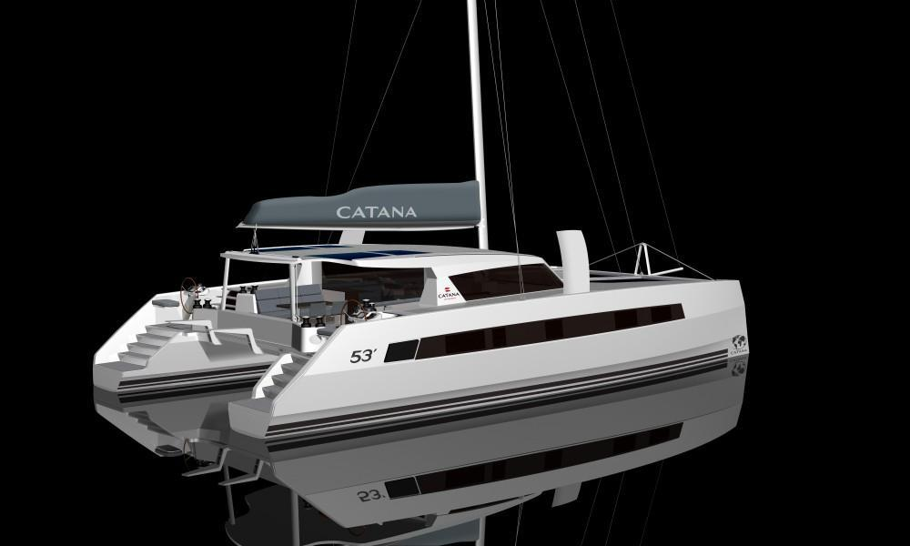 Exterior Catana 53 New Boat