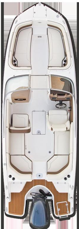 Layout Chaparral 250 Suncoast