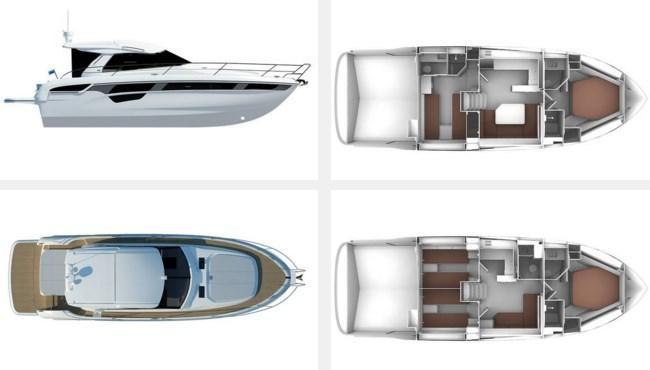 Layout Bavaria New Sport 450 Coupe
