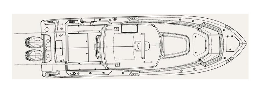 Layout Boston Whaler 330 Outrage