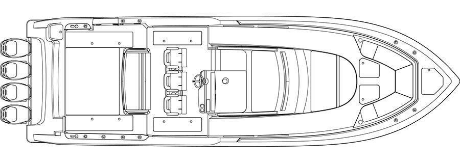 Layout Boston Whaler 420 Outrage