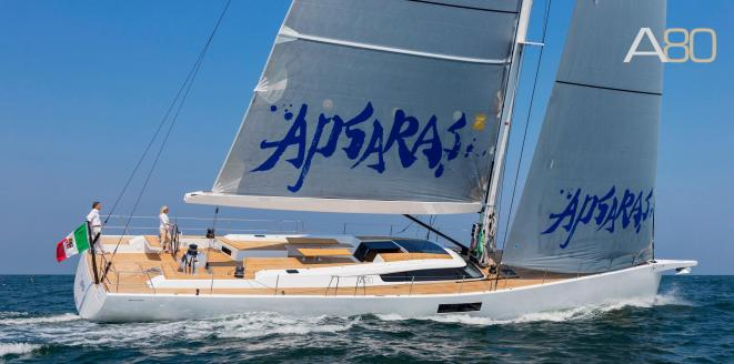 Advanced Yachts A80 Nieuwe boot