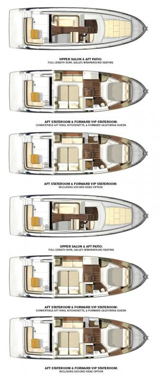 Layout Regal 42 GRANDE COUPE