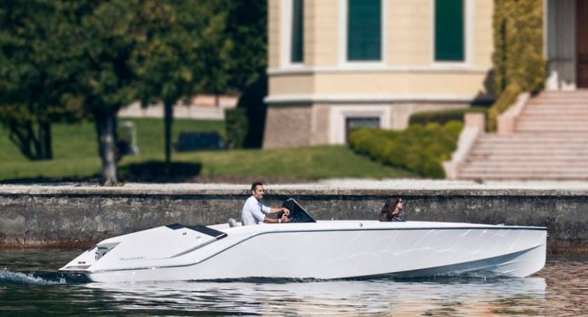 Exterior Frauscher 740 Mirage Air New Boat