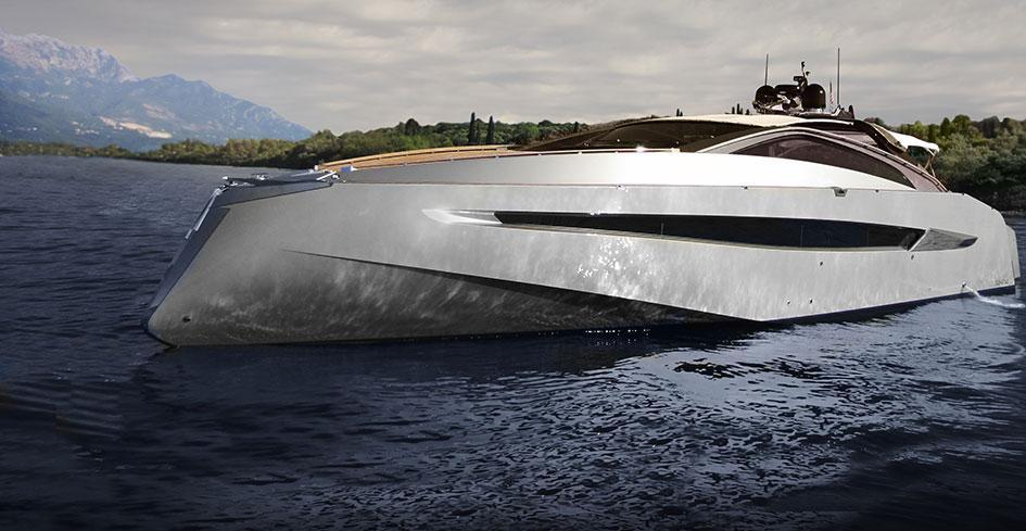 Exterior Art of Kinetik Hedonist Convertible New Boat
