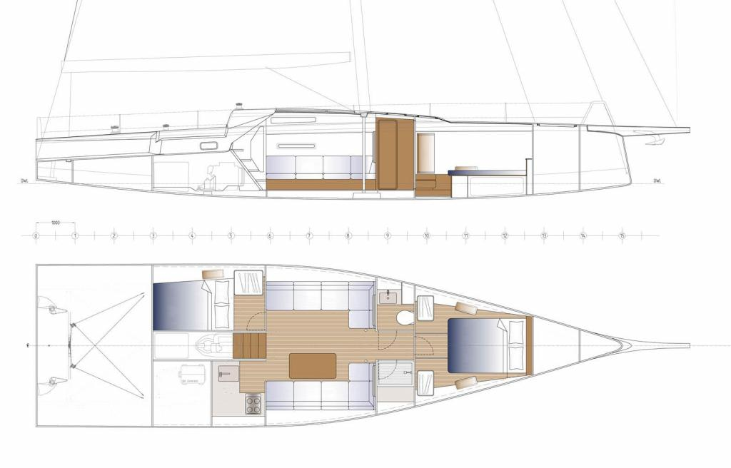 Layout Nautors Swan Swan 50