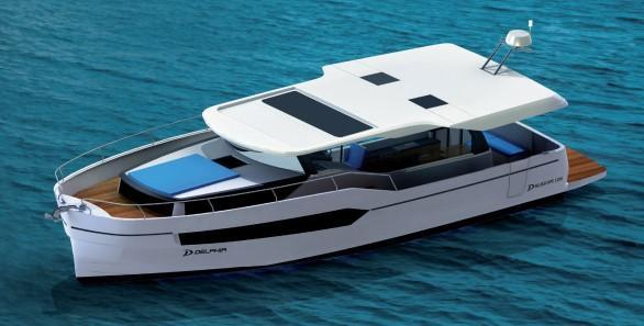 Exterior Delphia E BluEscape 1200 New Boat