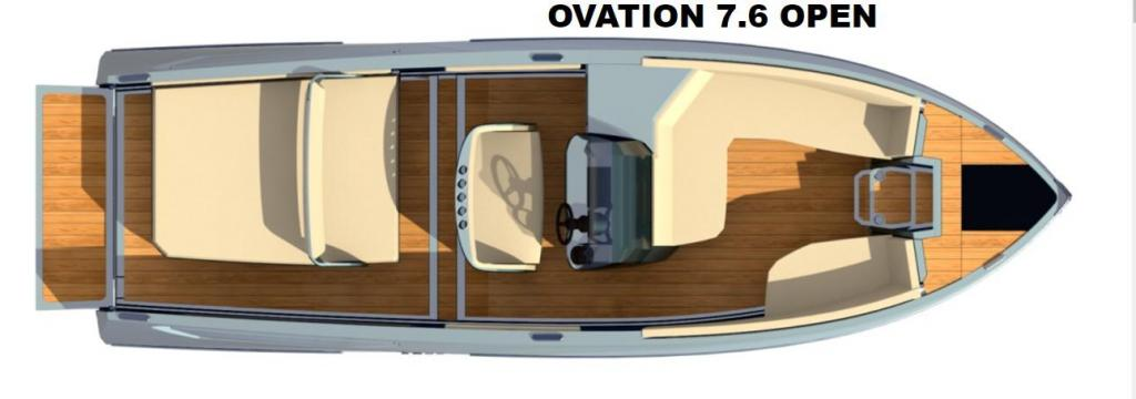 Layout Ganz Boats Ovation 7.6 Open