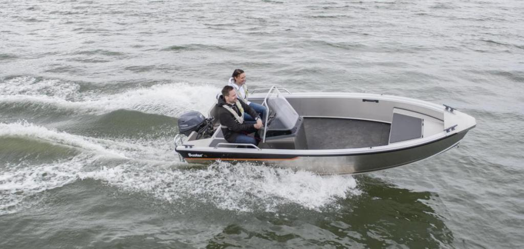 Exterior Buster S 1 New Boat