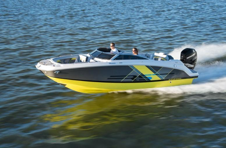 Exterior Four Winns HD 220 OB RS New Boat