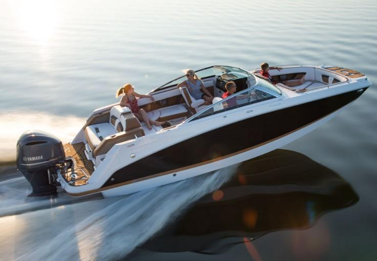 Exterior Four Winns HD 240 OB RS New Boat